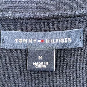 Tommy Hilfiger Sweaters - Tommy Hilfiger Navy Blue V Neck Cotton Sweater EUC